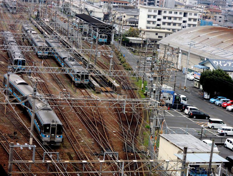 鉄道ファン必見!「サンルート松山」のトレインビュールームを松山観光の拠点にしよう
