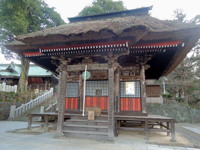 厄除け・縁結び・子宝・安産のご利益がある、達磨寺の観音堂