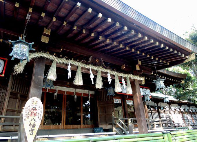 源頼朝や徳川家康の崇敬も集めた、平塚八幡宮のご利益