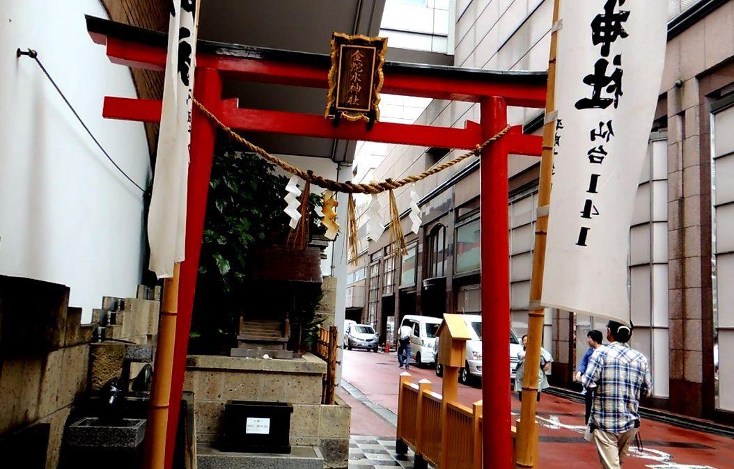 地元、仙台の人にとって特別な神霊が祀られている「金蛇水神社」