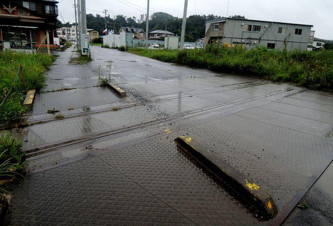 町中にも残る、震災の遺構