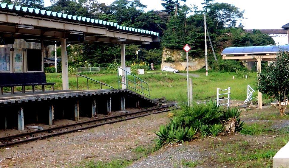 野蒜海岸・奥松島観光の玄関口だった野蒜駅
