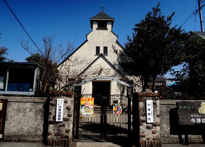 登録有形文化財が幼稚園に・「日本キリスト教団今津教会会堂」