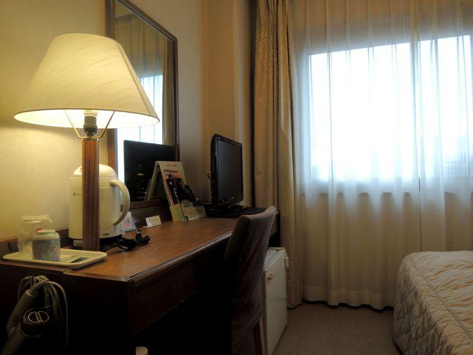 サンルート松山は部屋の快適度もバツグン