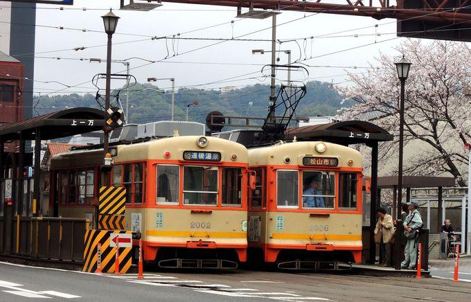 市内電車5つの路線と乗り放題きっぷの料金