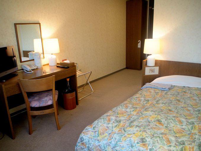 広々とした部屋が人気!ユートリーの宿泊施設
