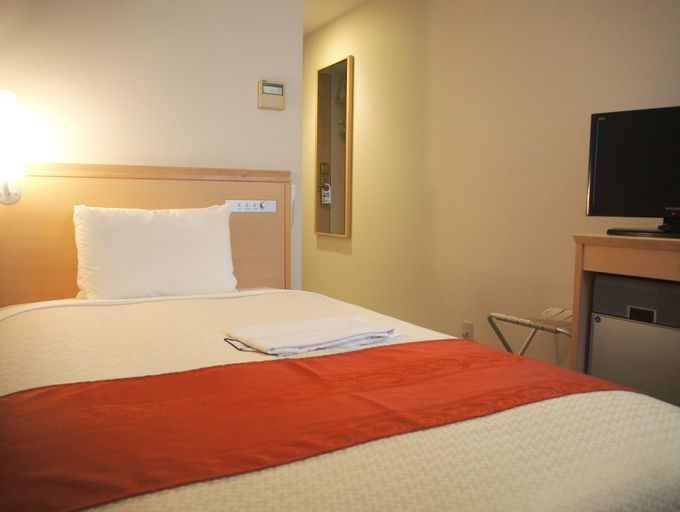 リニューアル後の客室はベッドと浴室に注目!