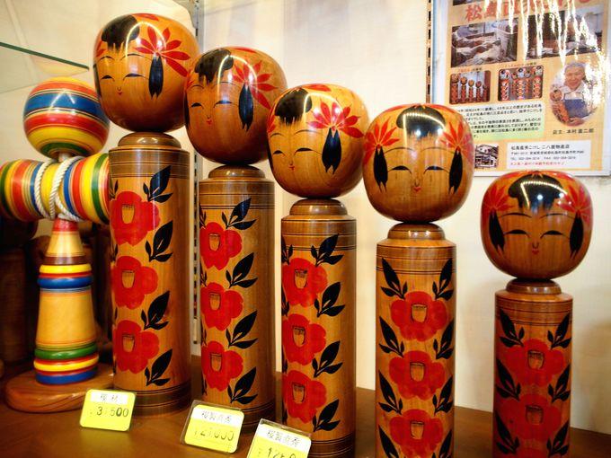 松島でただ一人のこけし職人が作る「松島直秀こけし」