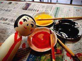 """宮城の人気観光地・松島「二八屋物産店」で""""こけし""""を見て描いて楽しもう!"""