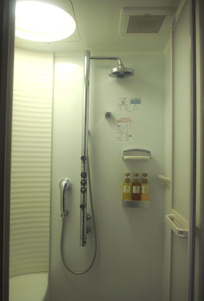 洗面台・シャワー・トイレが独立!珍しいホスピタリティも