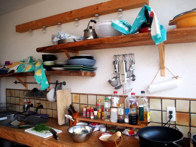 長期ステイに嬉しい!rucoのオシャレなキッチン