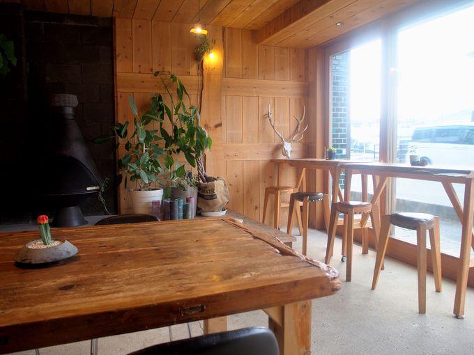 rucoはカフェも兼ねてるゲストハウス