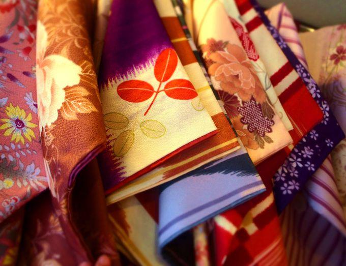 キモノスタイルカフェで着物をレンタル