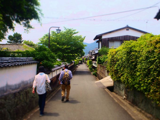 キモノスタイルカフェカフェから萩城下町を歩こう