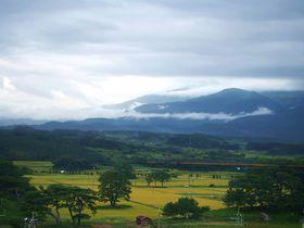 秋田の天然記念物「象潟」九十九島!黄金の大地に浮かぶ103の島々