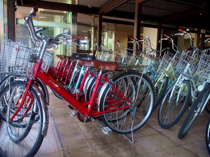 サイクリングのスタート地点はJR東萩駅!