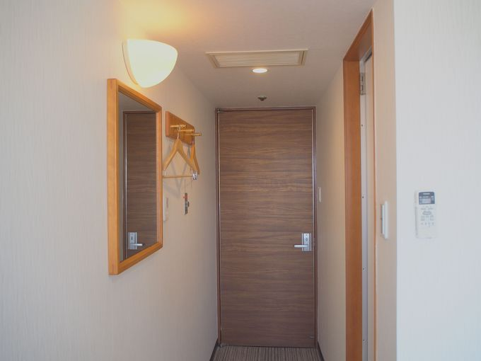 広々とした使い勝手の良い客室