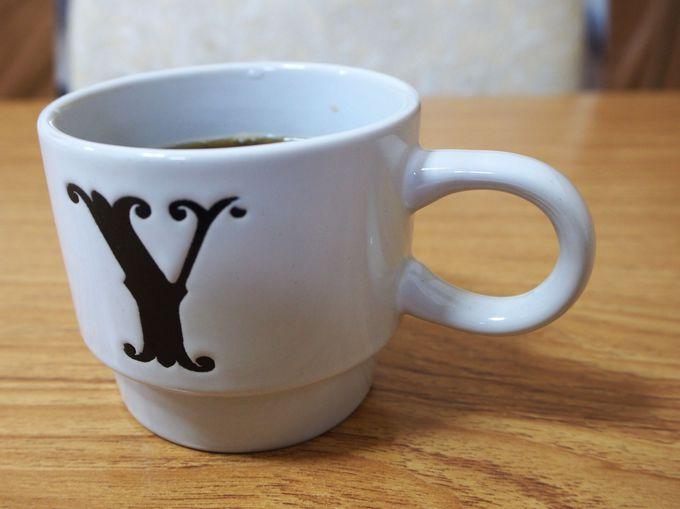 朝は和定食とオリジナルコーヒーで
