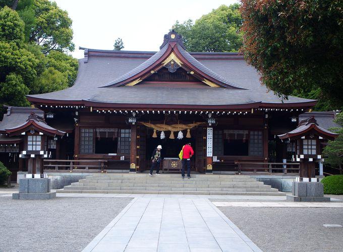 水前寺成趣園を外周!出水神社と能楽殿を巡る