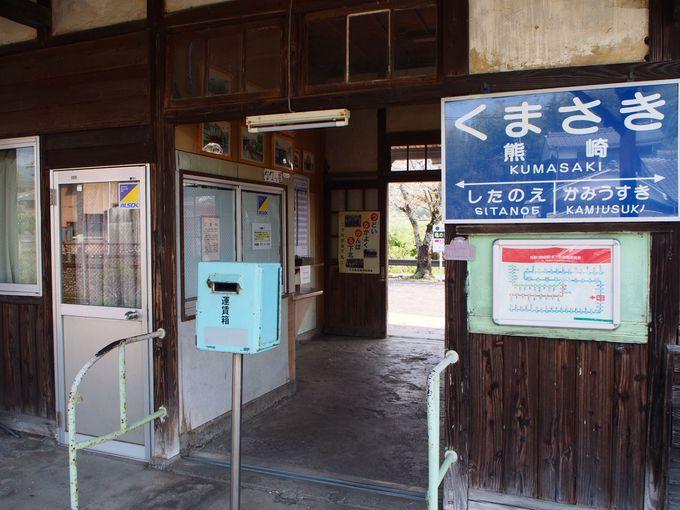 大正時代の純木造駅舎!熊崎駅(大分県)
