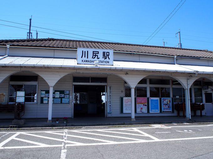 意外なところにも見どころが!川尻駅(熊本県)