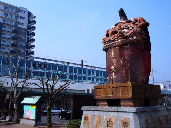 唐津観光の中心地!まずは唐津駅に下車
