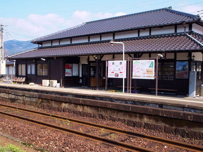 国の有形文化財に登録!小城駅と九州小京都の散策