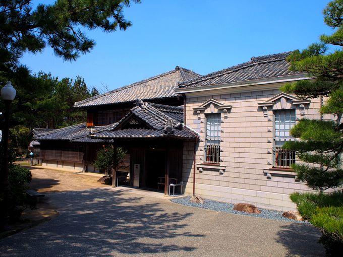 正午頃:町ブラしつつ唐津神社へ向かい、旧高取邸へ