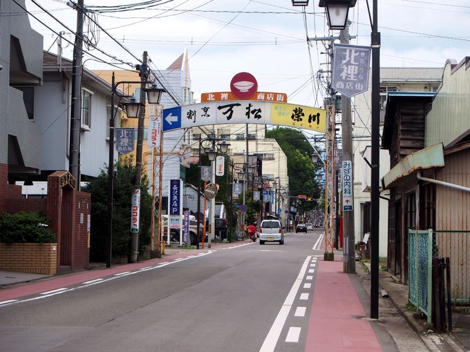 オカザキドーナツは福島駅東口から徒歩20分