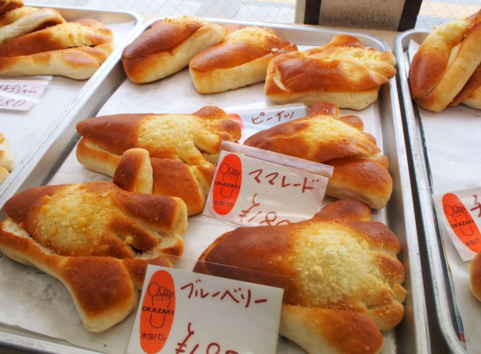 水虫パンがある町の小さなパン屋・オカザキドーナツ