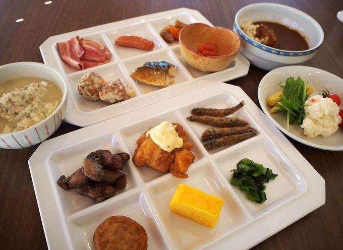 口コミ人気が高いリッチモンドホテル 宮崎駅前の朝食ビュッフェ
