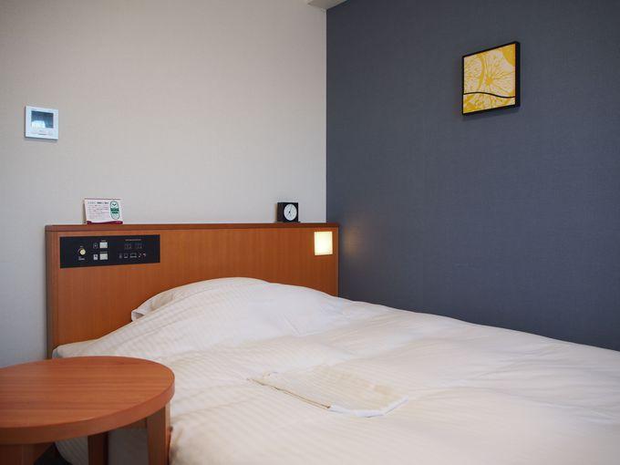 細かな配慮にあふれているリッチモンドホテル 宮崎駅前の客室