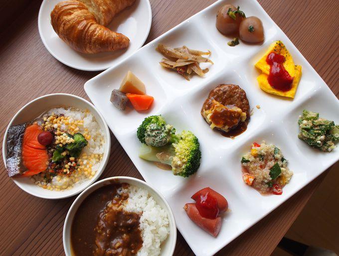 野菜が美味しい!むさしのグランドホテル&スパの朝食ビュッフェ