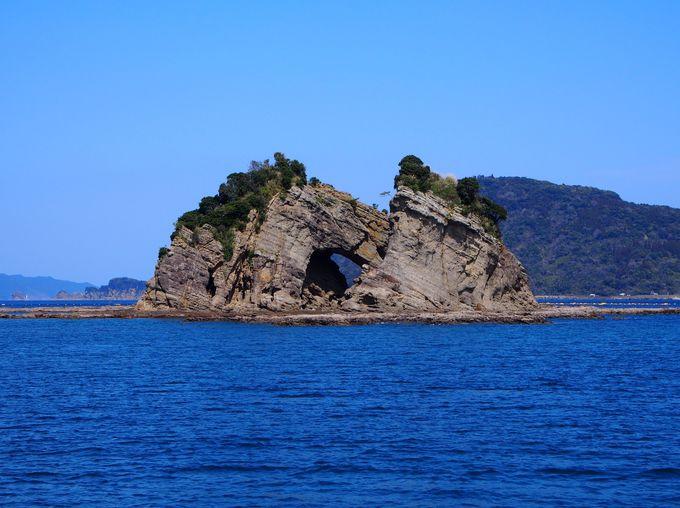 マリンビューワーなんごうから日南海中公園の島々を眺めよう