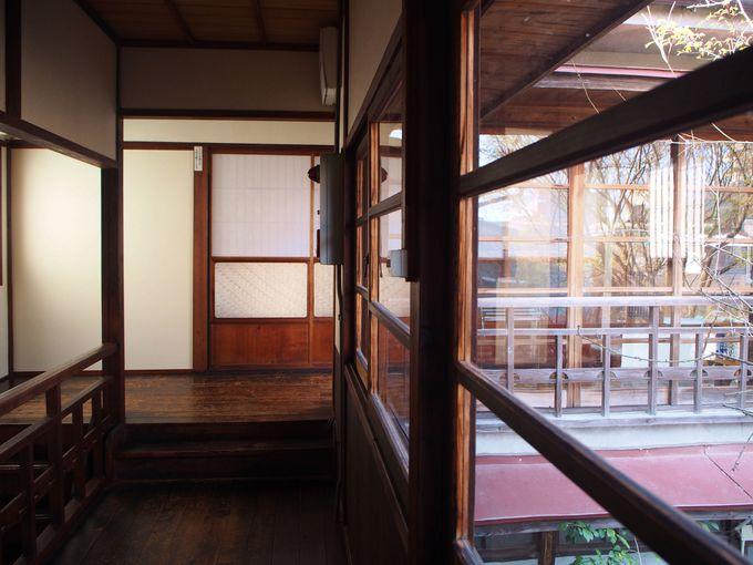レトロな空間に癒される、町屋旅館 一富士