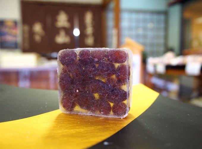 8日かけて作る珠玉の和菓子が手に入る、菓匠 たてやま