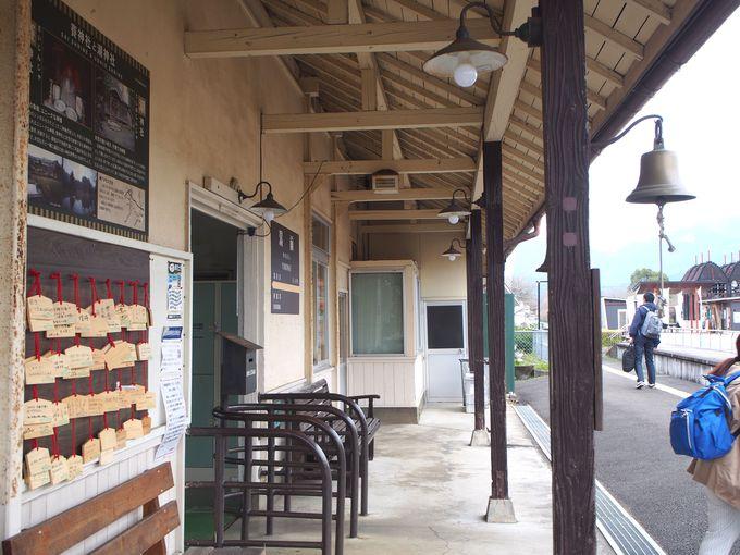 くま川鉄道最古の駅舎がある終着駅!湯前駅