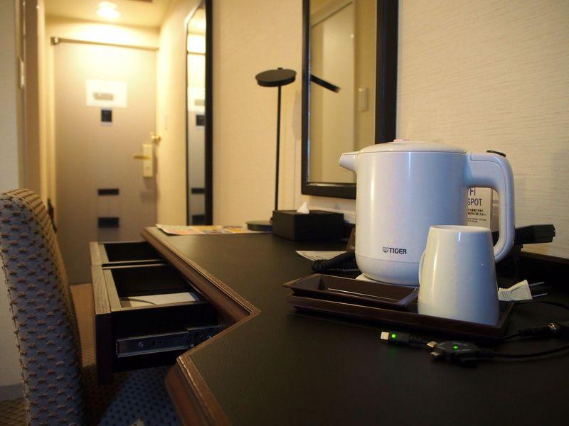 ジムに夜のだし茶漬けも無料!香川「チサン グランド 高松」