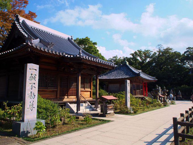 宝物館も!屋島寺を広い境内を散策しよう
