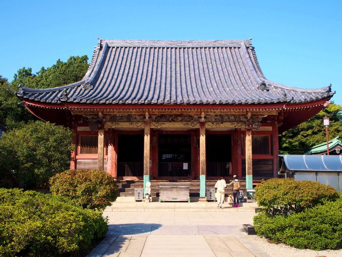 本堂が重要文化財に指定されている屋島寺