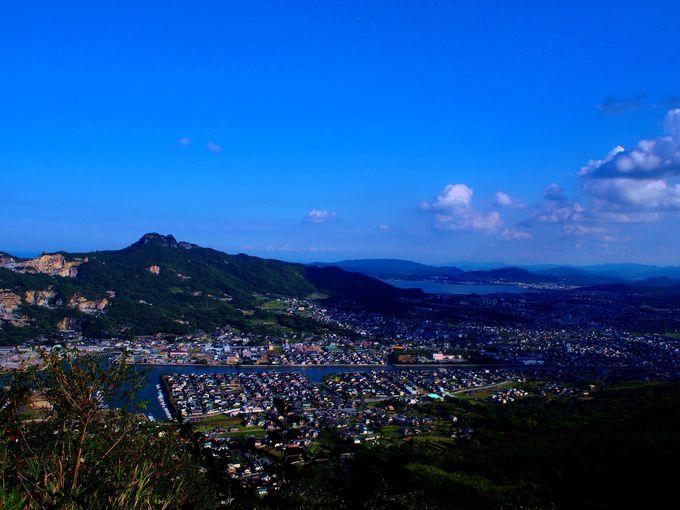 屋島寺そばの展望台から絶景を見よう!