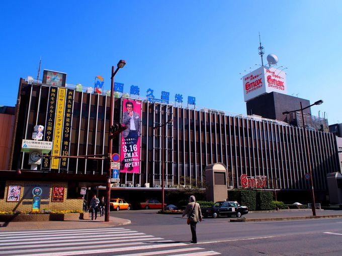 マンホールめぐりは西鉄久留米駅から出発!