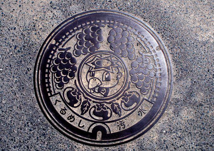 田主丸駅から河童のマンホール探しへ!