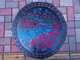 福岡県久留米市のご当地マンホールを巡る!駅から始まる町散策