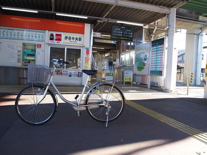 いな穂街道をサイクリング「伊奈中央駅」