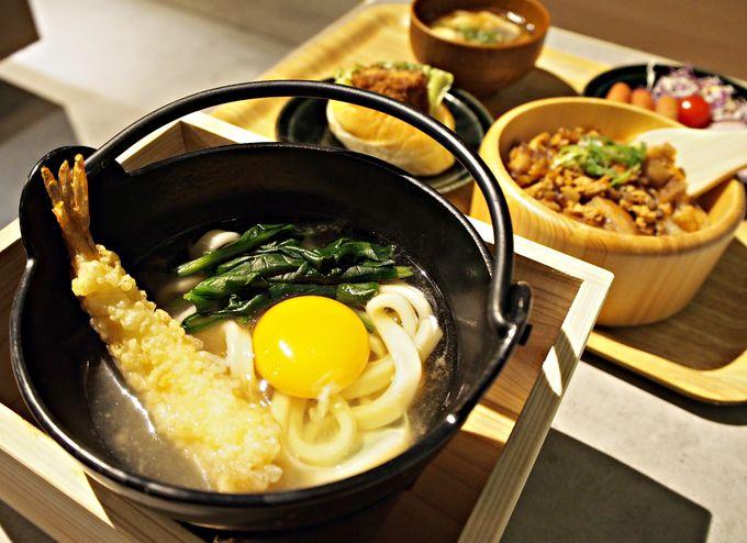 埼玉のご当地グルメ大集合!レフ大宮の朝食