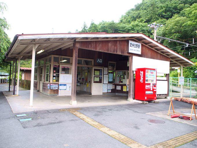武州日野駅から安谷川橋梁の撮影地へ