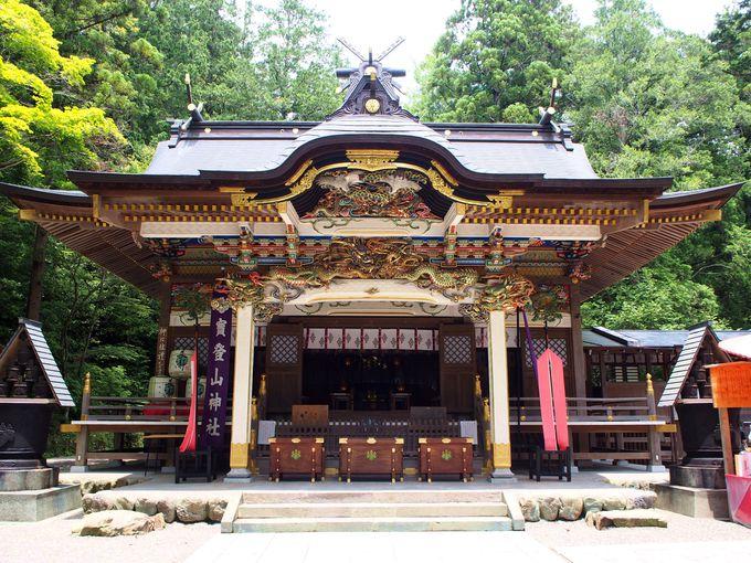 埼玉長瀞「宝登山神社」とロープウェイで奥宮へ!噂の黒いお守りも