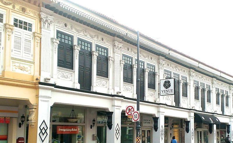 華麗なプラナカン建築にうっとり!シンガポール・カトン宿泊はベニューホテルへ