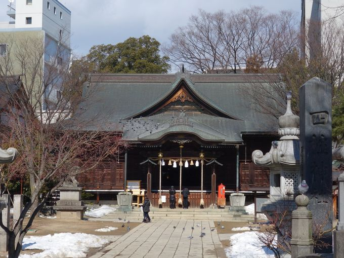 7.四柱神社